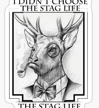 Stag life Sticker