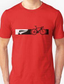 Bike Stripes New Zealand v2 T-Shirt