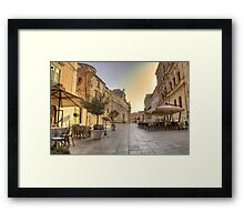 siracusa Framed Print