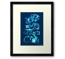 Dungeon Crawlers Framed Print
