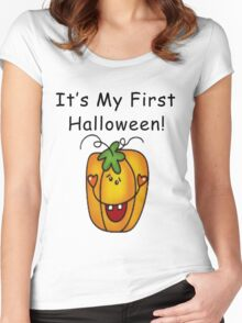 It's My First Halloween Women's Fitted Scoop T-Shirt