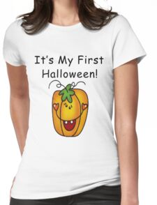It's My First Halloween Womens Fitted T-Shirt