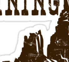 Big Thunder Mining Co Sticker