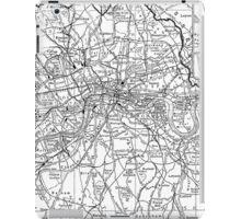 Vintage Map of London England (1911) iPad Case/Skin