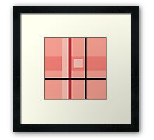 """""""Pink Destiny"""" Abstract texture pattern  Framed Print"""