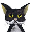 THIS CAT LOVES YOU! by Hares & Critters