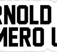 Arnold is numero uno Sticker