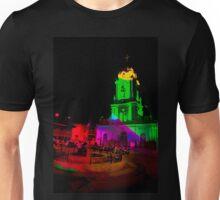 Church In Racar Ecuador At Night Unisex T-Shirt