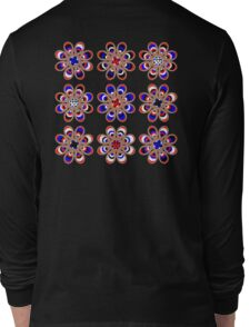 Leather Pride Foot Flowers Long Sleeve T-Shirt
