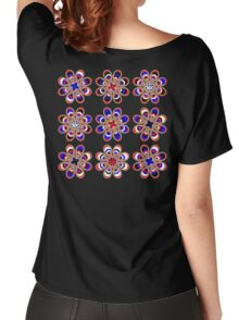 Leather Pride Foot Flowers Women's Relaxed Fit T-Shirt