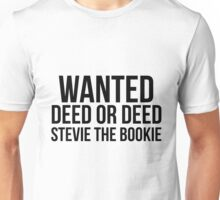 Stevie the Bookie Unisex T-Shirt
