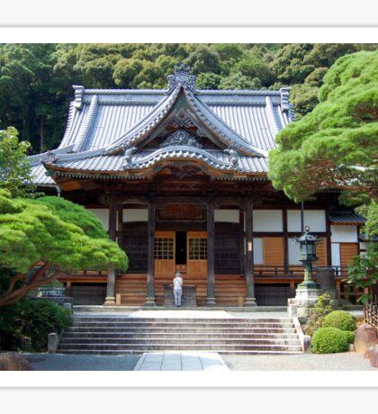 Shusen Temple, Japan Sticker