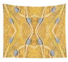 Fishing Net and Floats Wall Tapestry