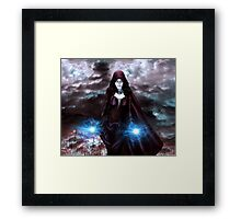 The Sorceress of the Silent Sea Framed Print
