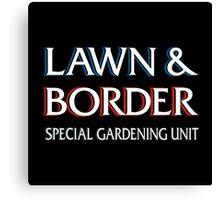 Lawn & Border Canvas Print