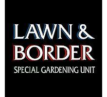 Lawn & Border Photographic Print