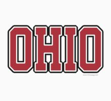 Ohio Jersey Red Kids Clothes