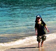 Josh In Jamaica  2010 by lynn carter