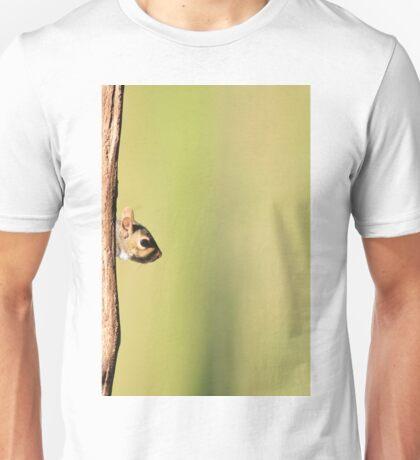 Squirrel Antics - Wildlife Background - Funniest Nature Unisex T-Shirt