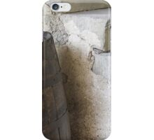 Old barrel for wine iPhone Case/Skin