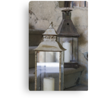 old lantern Canvas Print