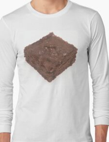 Chocolate Brownie Long Sleeve T-Shirt