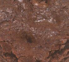 Chocolate Brownie Sticker