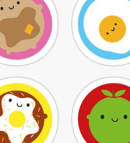 Kawaii Breakfast Sticker