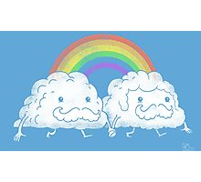 Gay Clouds Photographic Print
