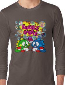 Bubble Bobble Retro Long Sleeve T-Shirt