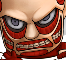 Pocket Attack on Titan Sticker