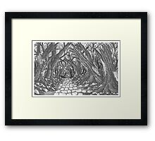 Wrong Road - www.jbjon.com Framed Print