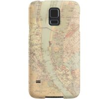 Vintage Map of Budapest Hungary (1884) Samsung Galaxy Case/Skin
