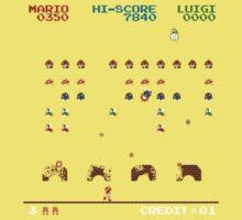 Mario Invaders Kids Tee
