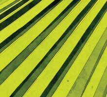 Green Palm Frond Sticker