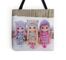 Blythes in the snow Tote Bag