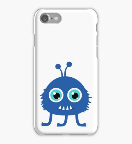 Cute and funny cartoon monster iPhone Case/Skin