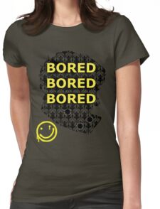 Sherlock BORED Womens Fitted T-Shirt