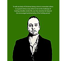 Derren Brown Christmas message Photographic Print