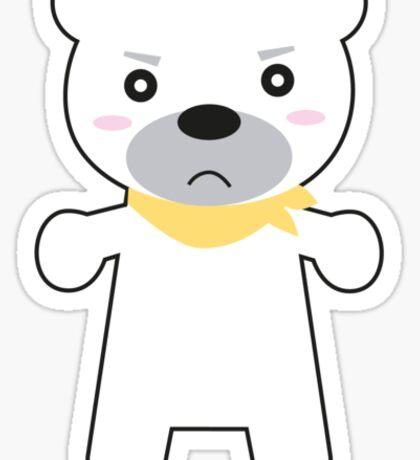 Super Cute Kawaii Polar Bear Sticker