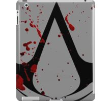 Assassins creed logo with gore! iPad Case/Skin