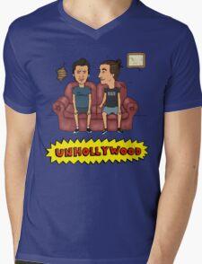 Unhollywood 3 Mens V-Neck T-Shirt