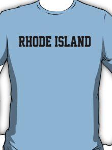 Rhode Island Jersey Black T-Shirt