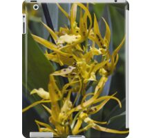 orchid in the garden iPad Case/Skin