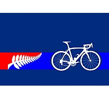 Bike Stripes New Zealand Photographic Print