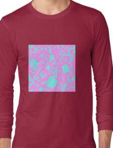 HELLO MEMPHIS (pink) Long Sleeve T-Shirt