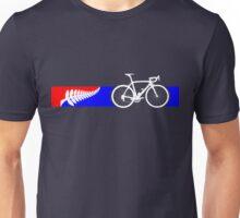 Bike Stripes New Zealand Unisex T-Shirt