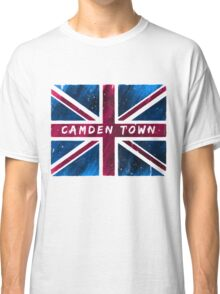 Camden Town Union Jack British Flag Classic T-Shirt