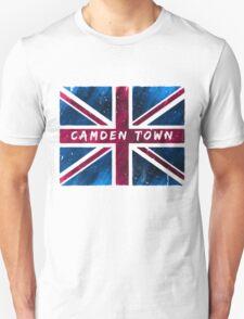 Camden Town Union Jack British Flag Unisex T-Shirt