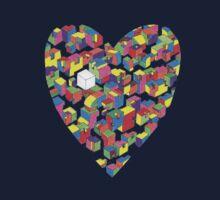 New Town #2 (Colour/Heart) Kids Tee